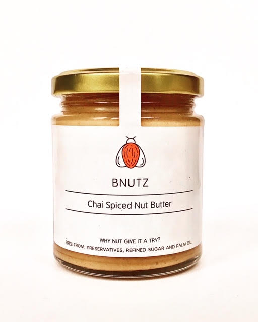 Chai spiced nut butter