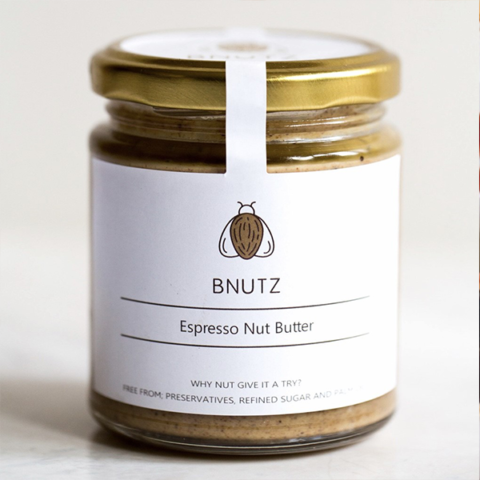 espresson nut butter jar