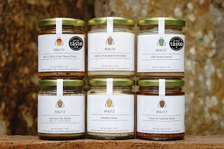 nut butter jars